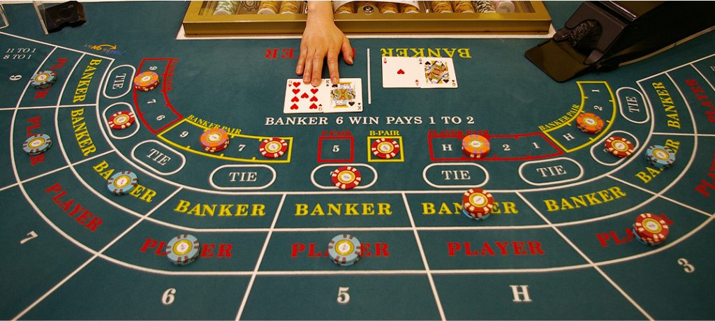 The purpose of the game of baccarat